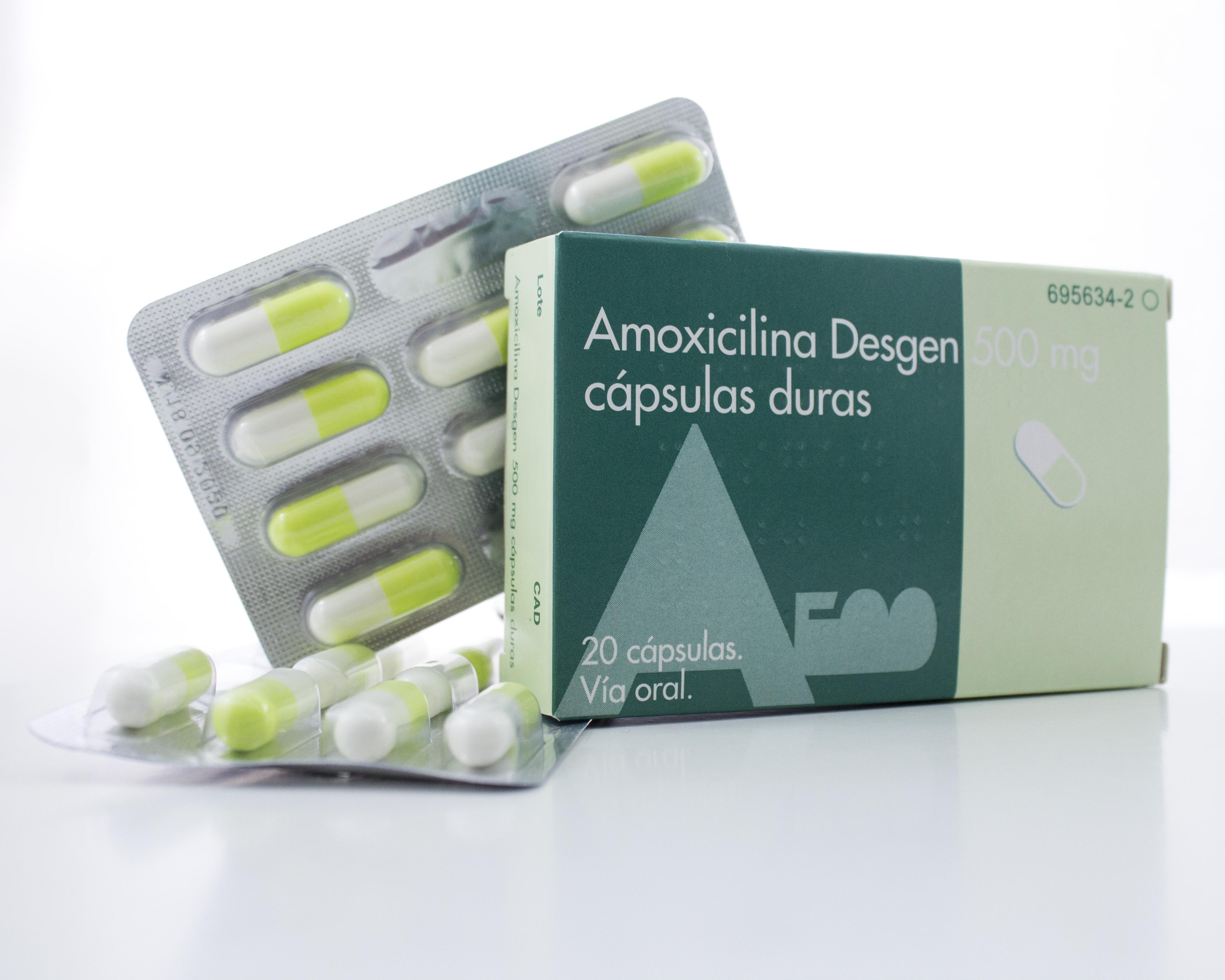 Amoxicilina 20 cápsulas